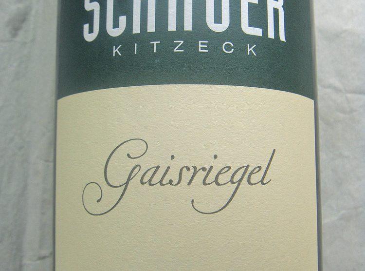 """2012 Riesling """"Gaisriegel"""""""