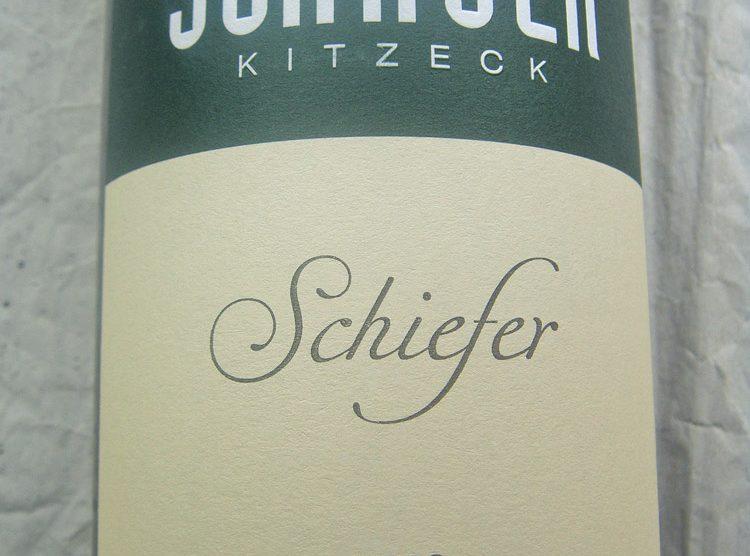 "2013 Sauvignon blanc ""Schiefer"""