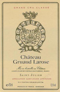 Etikett Gruaud Larose
