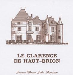Etikett Le Clarence de Haut-Brion