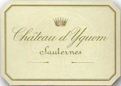 Etikett Chateau d'Yquem