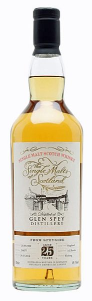 Glen Spey 25y 88-14 SD Single Malts of Scotland Hogshead #356077 192btl - 49,1%