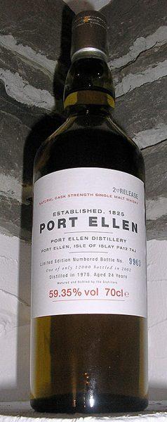 Port Ellen 24y 78-02 2nd Annual Release 12.000btl – 59.4%