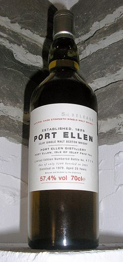 Port Ellen 25y 79-05 5th Annual Release 5.280btl - 57,4%