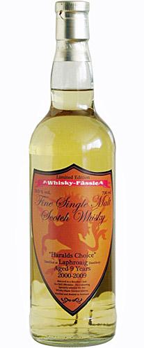 Laphroaig 09y 00-09 Whisky-Fässle Haralds Choice Bourbon Cask - 59%