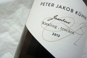 """2013 Riesling trocken """"Jacobus"""""""
