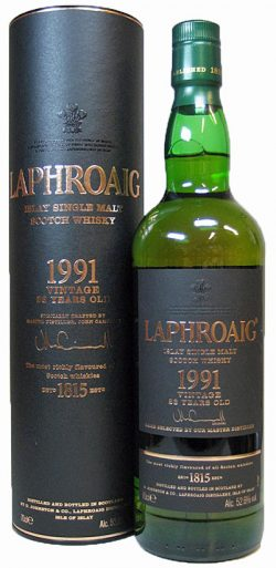 Laphroaig 23y 1991-2014 Vintage for Germany