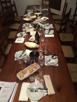 Nach der Weinprobe bei Elvio Cogno