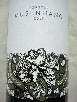 Etikett Musenhang