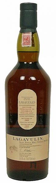 Lagavulin 14y 95-09 OB Feis Ile 2009 European Oak Cask 4556 580btl - 54,4%