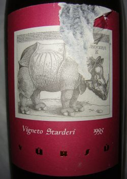 "1998 Barbaresco ""Starderi"" 