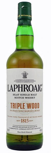 Laphroaig 2014 OB Triple Wood Bourbon Quarter Oloroso Sherry - 48%