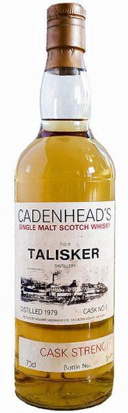 Talisker 13y 79-92 Cad Distillery label cask 6 Backlabelcode 92/300 212btl - 64,9%