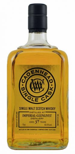 Imperial-Glenlivet 37y 77-15 Cad Small Batch Bourbon cask 204btl – 53,5%