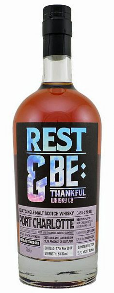 Port Charlotte 12y 01-14 Rest & Be Thankful WC Syrah # R2306 287btl - 63,3%