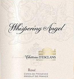 "2014 ""Whispering Angel"", Côtes de Provence Rosé   Caves d'Esclans"