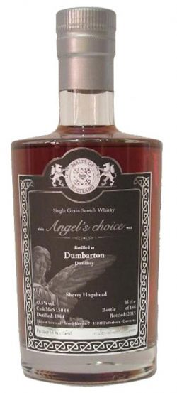 Dumbarton 50y 64-15 MoS Angel's Choice Sherry Hog. #15044 148btl 35cl - 43,5%