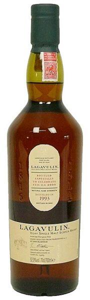 Lagavulin 15y 93-08 Feis Ile 2008 sherry cask 1403 580btl - 52,9%
