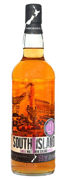 Dunedin 21y 90-11 South Island Single Malt American Oak, Ex-Bourbon - 40%