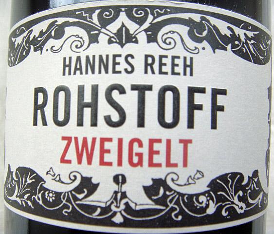 Kult-Zweigelt von Hannes Reeh