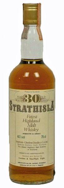 Strathisla 30y ~1980 G&M Cream label age printed in gold SC999 0,75l – 40%