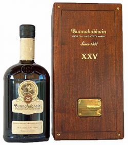 Bunnahabhain 25y 2005 OB XXV Old Label Bourbon and Sherry Casks - 43%