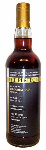 Bunnahabhain 36y 75-11 TWA The Perfect Dram Oloroso Butt 394btl - 56,8%
