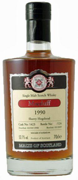 Macduff 19y 90-09 MoS Sherry Hogshead Cask 1423 62/124btl - 53,1%