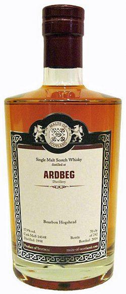 Ardbeg 98-14 MoS Bourbon Hogshead Cask 14048 242btl - 57,9%