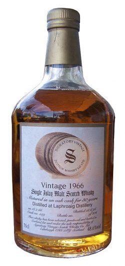 Laphroaig 30y 66-96 Signatory Vintage Collection Dumpy Oak Cask 559 204btl - 48,6%