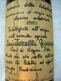 1985 Amarone della Valpolicella Classico Superiore