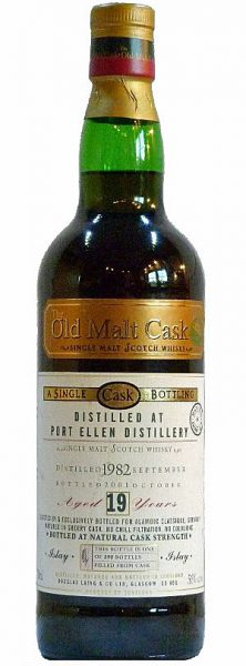 Port Ellen 19y 82-01 DL OMC for Alambic Classique sherry cask 390btl - 56%