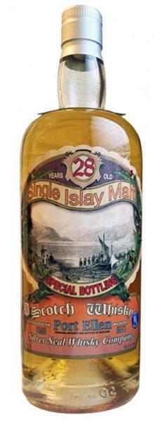Port Ellen 28y 83-11 Silver Seal Cask S1462 240btl - 55,5%