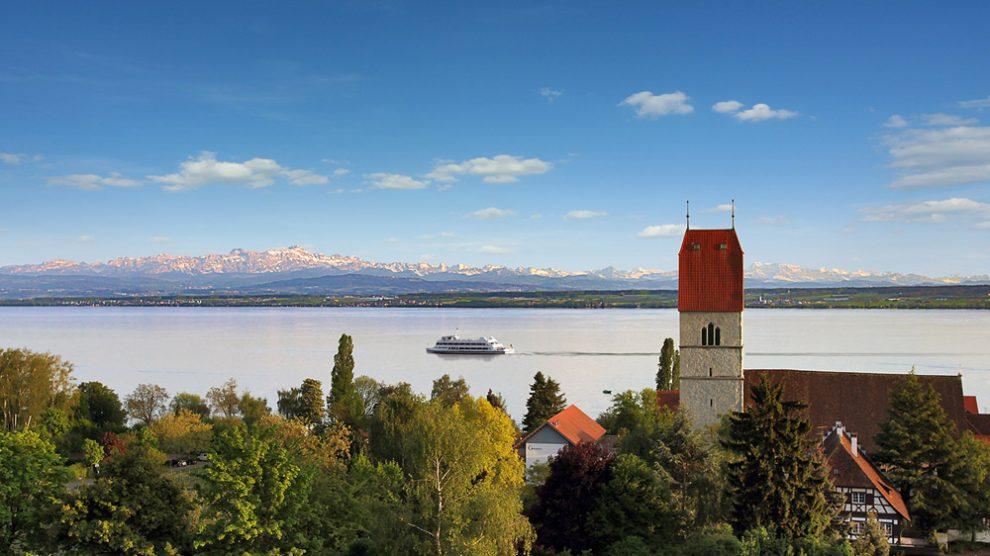 Badisches Ufer des Bodensees