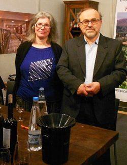 George Papaioannou mit Frau