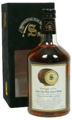 Port Ellen 23y 76-00 Signatory Vintage Collection Oak Cask 4762 258btl - 58%