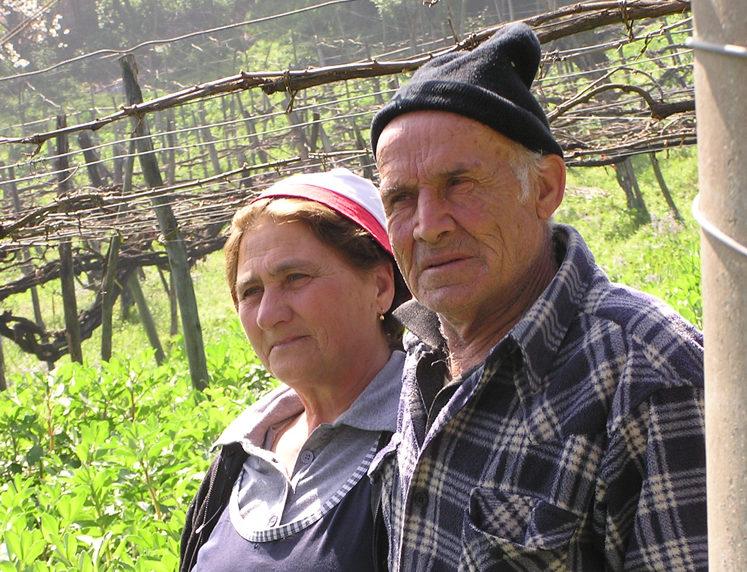 Angelo Piazza und Lucia Caporaso