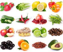 Histamin in Obst und Gemüse
