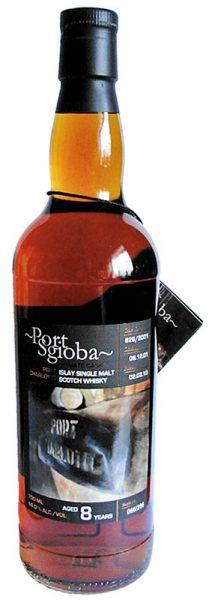 Port Charlotte 08y 01-10 OB Port Sgioba Sherry Hogshead Cask 826 286btl - 66%