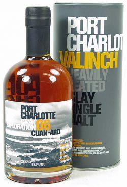 Port Charlotte 10y 05-15 OB Valinch Cuan-Àrd Grenache Blanc #1615 432btl - 58,6%
