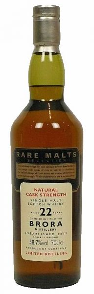 Brora 22y 72-95 OB Rare Malts Selection - 58,7%