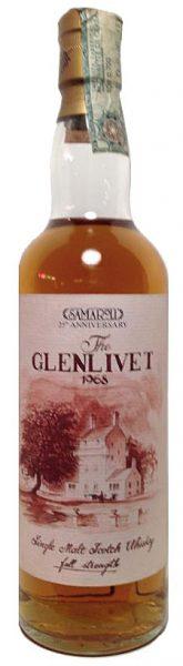 Glenlivet 25y 68-93 25th Anniversary Samaroli 996btl - 49%