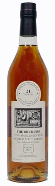 Balmenach 21y 84-05 TB Refill Spanish Sherry Butt Cask 3056 - 57,8%
