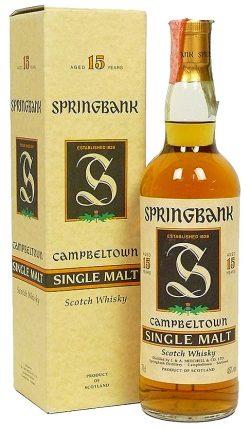 Springbank 15y 80-95 Green Thistle 95/274 - 46%
