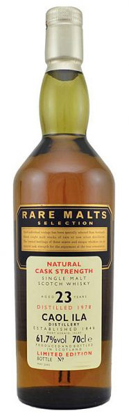 Caol Ila 23y 78-02 Rare Malts Selection Oak cask - 61,7%