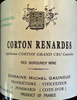 Corton Renardes