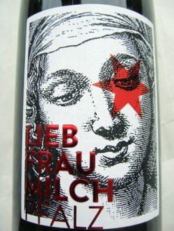 Etikett Liebfraumilch
