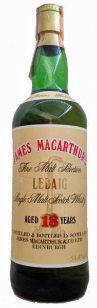 Ledaig-Tobermory 18y 1972 James MacArthur Fine Malt Selection - 54,4%