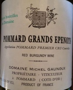 Pommard Grands Epenots