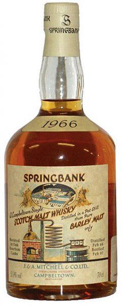 Springbank 31y 66-97 OB Local Barley Oak Bourbon Cask 1966 478 – 51,9%